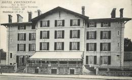 "CPA FRANCE 64 ""Hendaye, Hotel Continental"" - Hendaye"