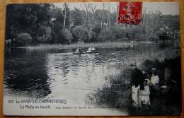 Cpa SAINT MAUR 94 LA VARENNE CHENNEVIERES - La Pêche En Famille - Saint Maur Des Fosses
