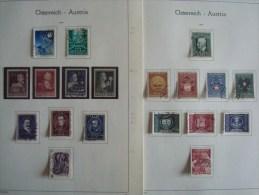 AUTRICHE 765/783 OBLITERES (ANNEE 1949 COMPLETE) - Annate Complete