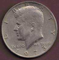 USA 1/2  DOLLAR 1973 - 1964-…: Kennedy