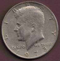 USA 1/2  DOLLAR 1973 - Federal Issues