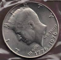 USA 1/2  DOLLAR 1776-1976 - 1964-…: Kennedy
