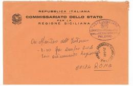COMMISSARIATO DELLO STATO - PER LA REGIONE SICILIANA - ANNO 1981 - Machine Stamps (ATM)