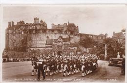 BAND OF THE ROYAL SCOTS AT EDINBURGH CASTLE - Otros