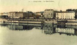 CHOISY LE ROI - VAL DE MARNE  (94)  -  PEU COURANTE CPA EN COULEUR. - Choisy Le Roi
