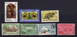Honduras 7 Timbres Neufs Et Oblitérés (335) - Honduras Britannique (...-1970)