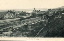 CPA 78 GARE DE TRIEL 1904 - Triel Sur Seine