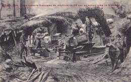 YSER : 1914 - Une Batterie Française De Mortiers De 28 Cm En Action Près De Nieuport - Guerre 1914-18