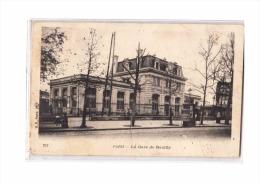 75 PARIS XII Gare De Reuilly, Ed BF 211, Dos 1900 - Arrondissement: 12