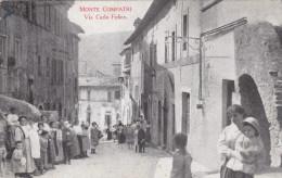 Monte Compatri-castelli Romani-via Carlo Felice-viagg,1917-animata Super - Italië