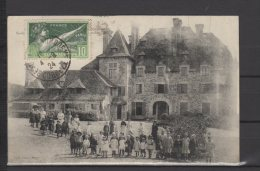 19 -  Chateau De Doux - Colonnie Scolaire Aout/Sept 1918 - France