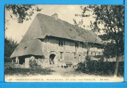 CP, 76, CRIQUETOT-L'ESNEVAL, Manoir D'Azelon (XIe Siècle) Reçut Charles IX, Voyagé En 1916 - Criquetot L'Esneval