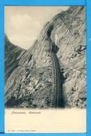 CP, PILATUSBAHN Eselwand, Voyagé En 1906 - LU Lucerne