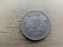 Inde  1 Rupee  1981  Km78 3 - Inde