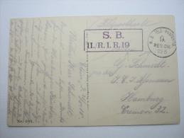 1915, Etain , Carte  Militaire  A Allemagne,  2 Scans - Marcophilie (Lettres)