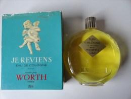 VINTAGE: PARFUMS WORTH PARIS -   JE REVIENS EAU DE COLOGNE  250ML (LALIQUE) - Fragrances (new And Unused)