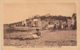 Graye Sur Mer L'entrée De La Plage - France