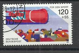 GERMANY 1986 - BOB - USED OBLITERE GESTEMPELT USADO