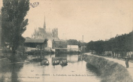 AMIENS - La Cathédrale Vue Des Bords De La Somme (animation) - Amiens