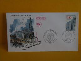 FDC- Institut Du Monde Arabe - Paris - 5.5.1990 - 1er Jour, - 1990-1999