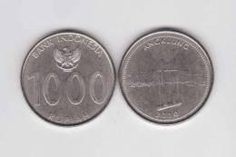 """INDONESIA  1.000  RUPIAS  2.010  """"ANGKLUNG""""    SC/UNC       DL-9584 - Indonesia"""