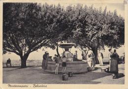 Monte Compatri-castelli Romani Belvedere-f.g.- -viaggiata1952 - Italia