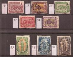 Frans - Kongo        Y/T     27...........37     ( O) - Congo Français (1891-1960)