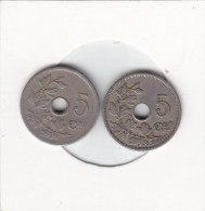 2 X 5 Centimes  Léopold II 1905 FR Et  FL - 1865-1909: Leopold II