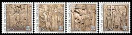 Vaticano 1998 Sass.1125/28 **/MNH VF - Unused Stamps