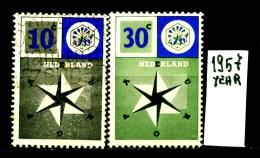 EUROPA - CEPT - OLANDA-NEDERLAND - Year 1957 - Viaggiato - Traveled - Voyagè - Gereist. - Europa-CEPT
