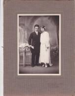 "PHOTOGRAPHIE 18X24  D´un "" MARIAGE "" 1922 - Photo V. BELEBEAU Poitiers - Fotografía"