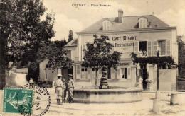 51 - CHENAY -   PLace Boisseau - Café Disant - Otros Municipios