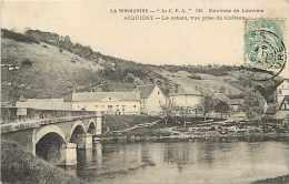 Eure - Ref  K 588  -acquigny   -  Le Côteau, Vue Prise Du Château  - Carte Bon état - - Acquigny
