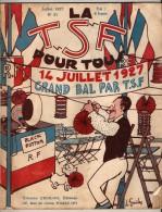 Revue Mensuelle  - La TSF Pour Tous 1927  - Le Portissimus - Audio-Visual