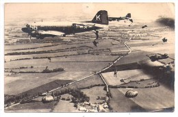 Carte Photo - Parachutages - Paracadutismo
