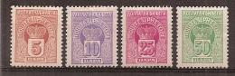 Montenegro   Taxe  Y/T     20 / 23       (X ) - Montenegro