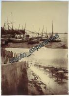 Lot Photo Plage Port Enfant 1900 ALICANTE Espagne Espana Spain - Lieux