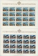 Liechtenstein Michel KB No. 723 - 724 gestempelt used Bogen