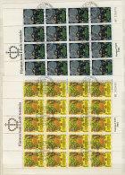 Liechtenstein Michel KB No. 764 - 765 gestempelt used Bogen