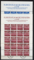 Liechtenstein Michel KB No. 837 - 838 gestempelt used Bogen