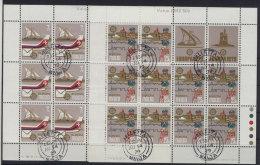 Malta Michel KB No. 594 - 595 gestempelt used Bogen