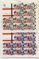 Malta Michel KB No. 661 - 662 gestempelt used Bogen