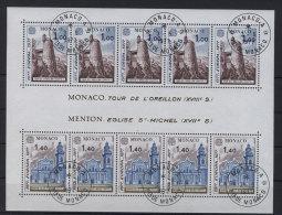 Monaco Block 11 gestempelt used