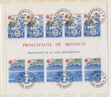 Monaco Block 32 gestempelt used