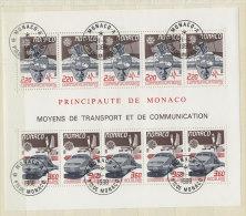 Monaco Block 39 gestempelt used