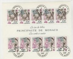 Monaco Block 44 gestempelt used