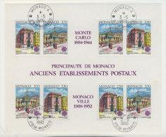 Monaco Block 47 gestempelt used