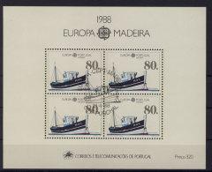 Madeira Block 9 gestempelt used