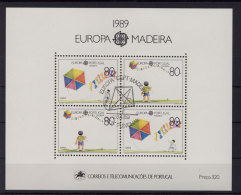 Madeira Block 10 gestempelt used
