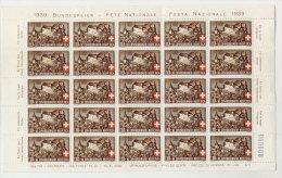 Schweiz Michel No. 356 ** postfrisch Bogen gefaltet